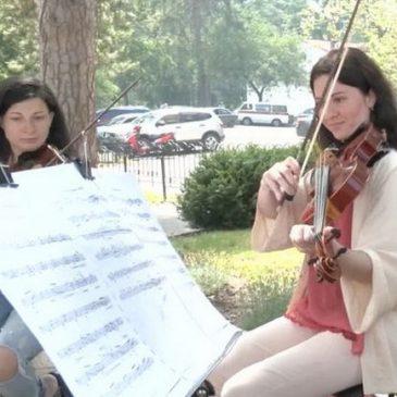 Концерти тихої музики проводять у Черкаському онкодиспансері (Відео)