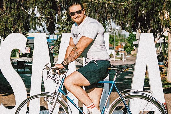 #ВелоКачок: черкащанин запустив спортивний проєкт для порятунку сина (ФОТО)