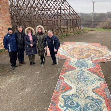 Мозаїку зі шкільного сараю хочуть відновити на Черкащині