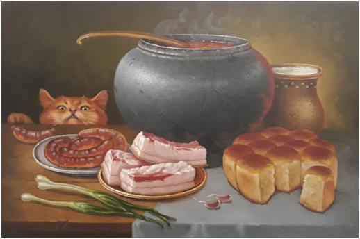У Черкаському обласному художньому музеї триває артпроєкт «КВІТИКОТИ» (фоторепортаж)
