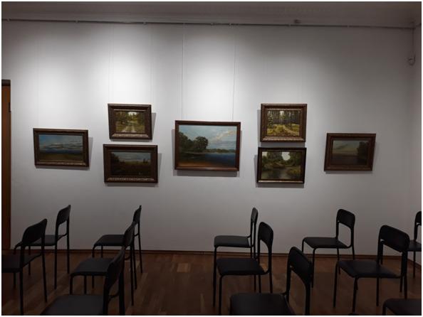 Персональна виставка Олега Чижикова відбулася в Черкасах